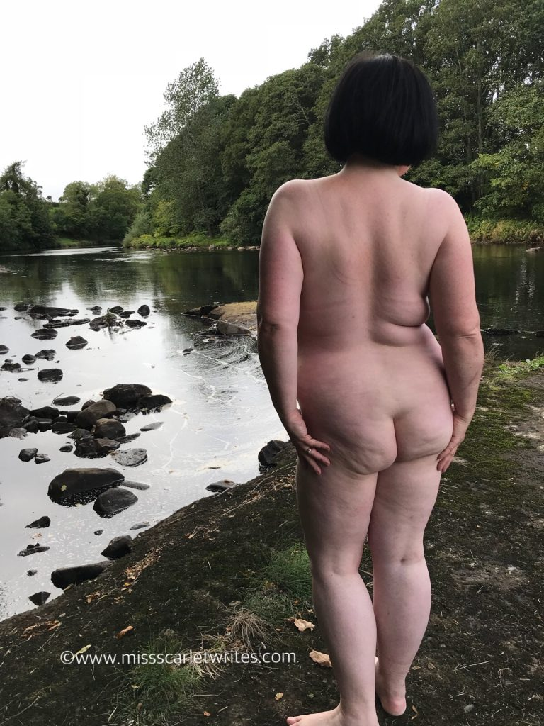 naked by the river